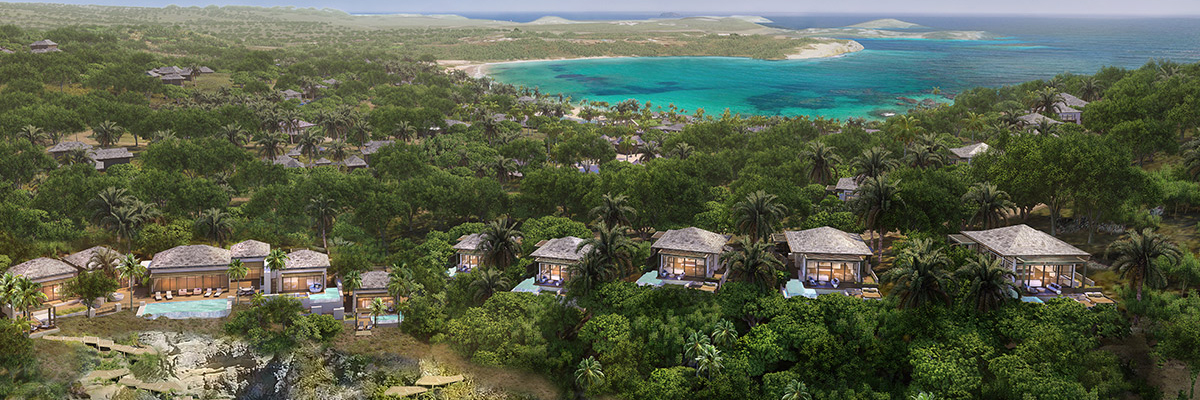 Timeless Caribbean interior design will set the stage for ultra-luxury enclave on Antigua