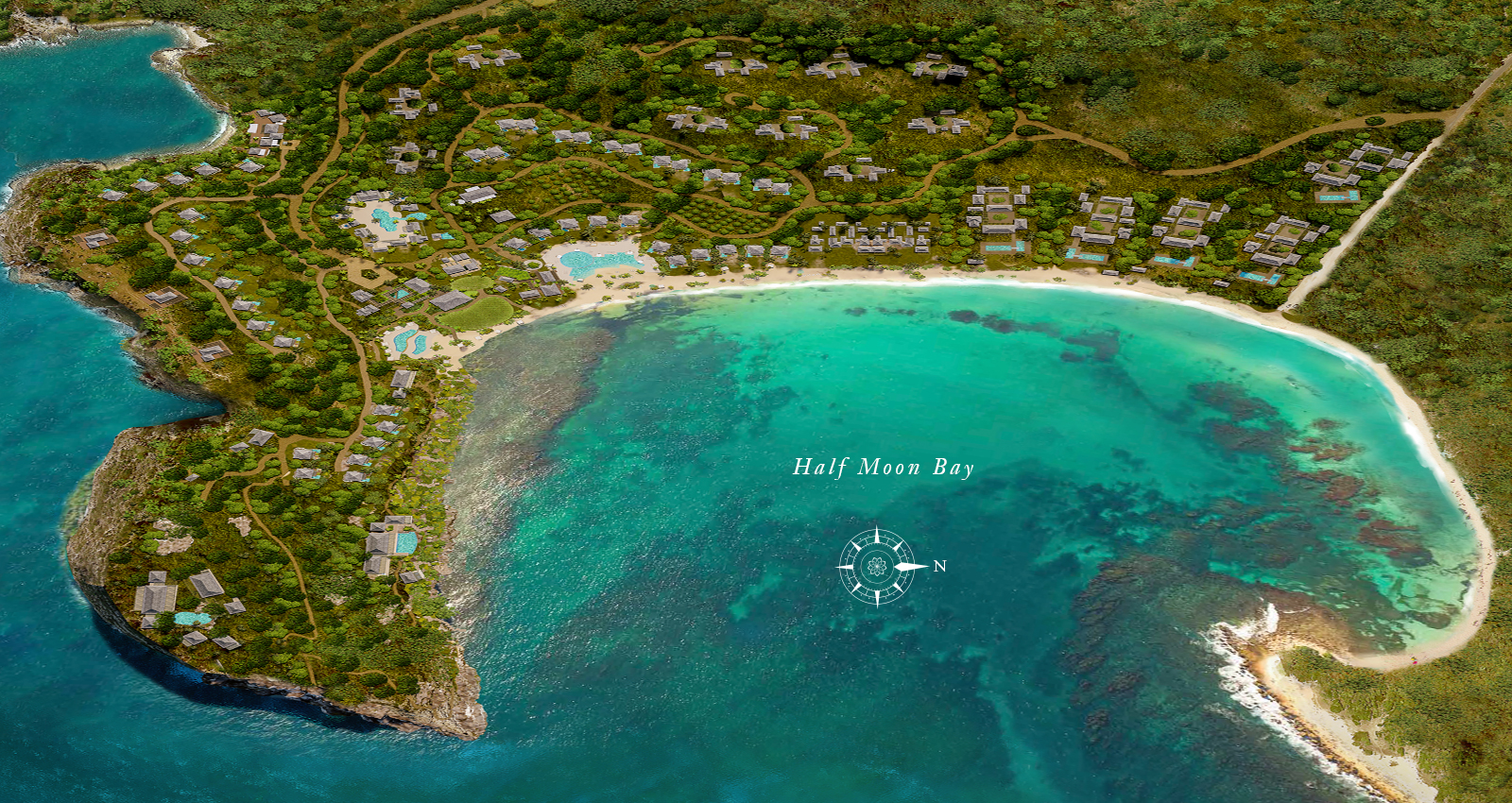 half moon bay antigua estates